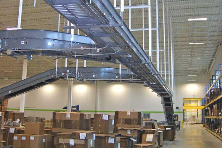 Nama Industrial End Of Line Equipment Conveyors.
