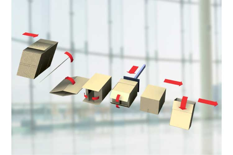 Nama Industrial End Of Line Equipment Case Erector.