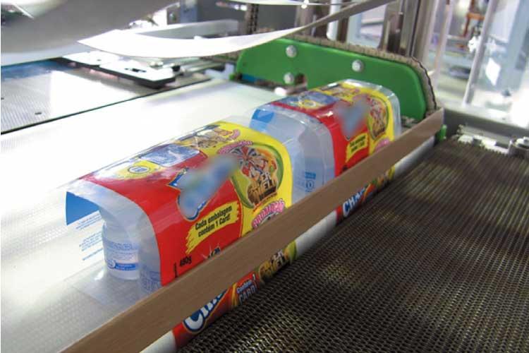 Nama Industrial End Of Line Equipment Shrink Wrapper.