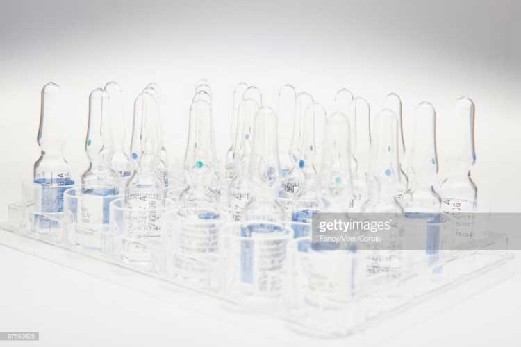 Nama Pharmaceutical Equipment Ampules.
