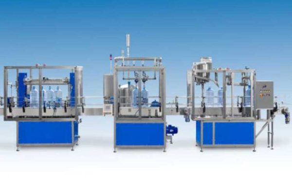 Nama Industrial Liquid Filling Equipment Rotary Rinser Filler Capper